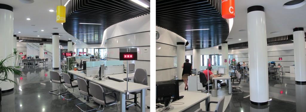 Reforma locales oficinas de empleo 2011 iglesias veiga for Oficina empleo vigo