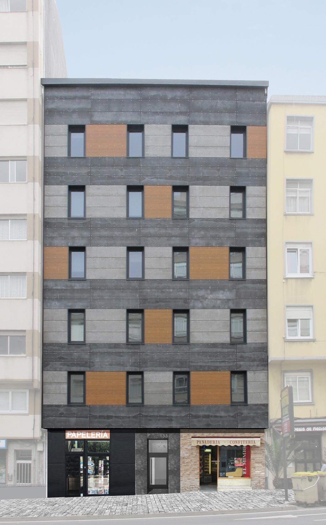 Fachadas de edificios por qu renovar la fachada en for Fachadas de viviendas